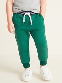 Functional Drawstring Joggers for Toddler Boys