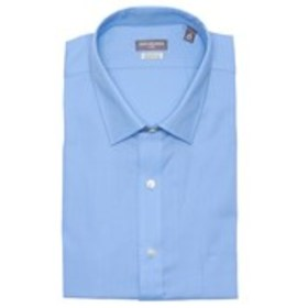 Mens Classic Fit Pincord Dress Shirt with Flex Col