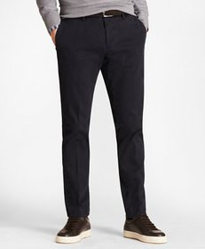 Brooks Brothers Soho Fit Garment-Dyed Stretch Cava