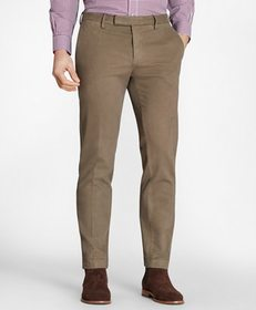 Brooks Brothers Soho Fit Garment-Dyed Stretch Brok