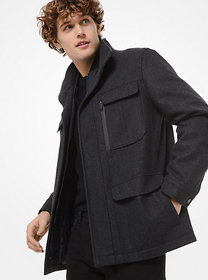 Michael Kors Wool Blend Field Coat