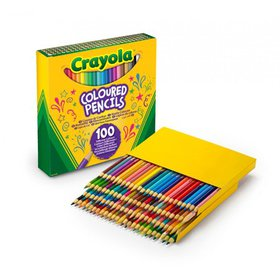 Crayola Classic Bulk-Size Colored Pencils, 100 Cou