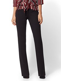 Bootcut Pull-On Pant - Signature Fit - 7th Avenue