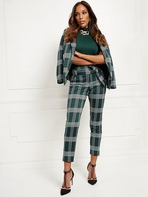Madie Pant - Plaid - 7th Avenue - New York & Compa