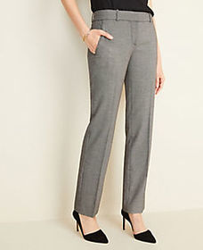 The Straight Pant in Birdseye