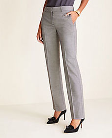 The Straight Pant in Birdseye - Classic Fit