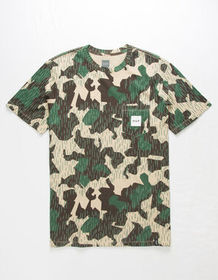 HUF Splinter Camo Pocket Mens T-Shirt_