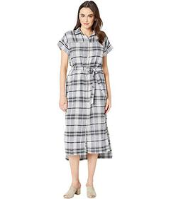 Jones New York Drop Shoulder Shirt Dress