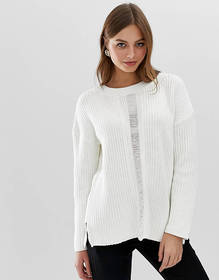 French Connection high neck mozart knit