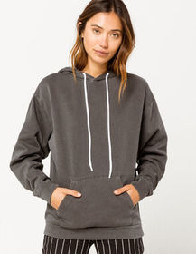 SKY AND SPARROW Mineral Womens Oversized Hoodie_