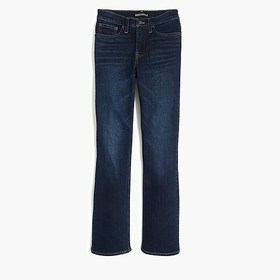 "J. Crew Factory 9"" high-rise flare crop jean in da"