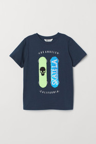 I'M INTERACTIVE T-shirt with Motif