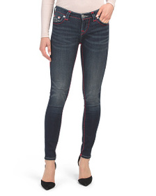 TRUE RELIGION Halle Jeans With Contrast Stitching