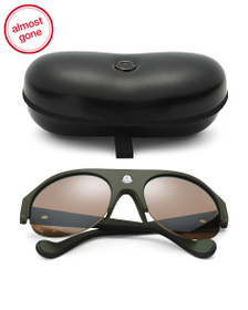 MONCLER Made In Italy 60mm Designer Sunglasses