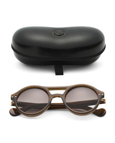 MONCLER Made In Italy 51mm Round Designer Sunglass