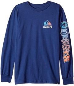 Quiksilver Kids Rebel Yell Long Sleeve Tee (Big Ki