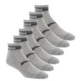 PUMA Men's P113581 Quarter 6 Pack Socks