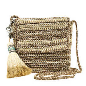 The Sak Costa Mesa Crochet Mini Flap Crossbody