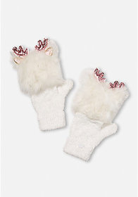 Justice Deer Flip Top Gloves