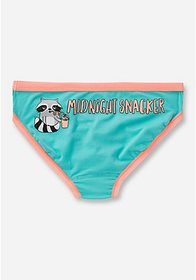 Justice Midnight Snacker Cotton Bikini