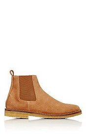 Barneys New York Crepe-Sole Chelsea Boots