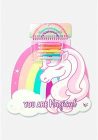 Justice You Are Magical Unicorn Sketchbook