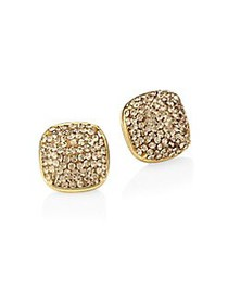 Kate Spade New York Clay Pave Small Square Stud Ea
