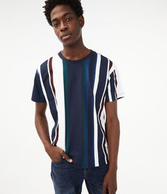 Aeropostale Relaxed Fit Stripe Tee***