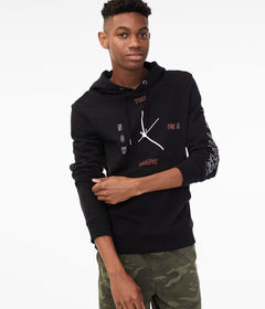 Aeropostale Time For A Change Pullover Hoodie