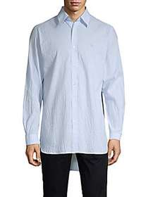 Burberry Pinstripe Shirt BLUE