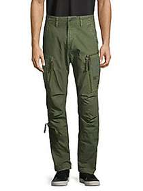 G-Star RAW Straight Tapered Cotton Pants COMBAT