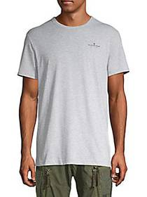 G-Star RAW Crewneck Cotton-Blend Tee GREY