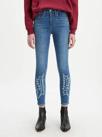 Levi's 721 High Rise Embroiderd Ankle Skinny Women