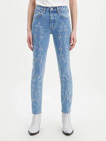 Levi's 501® Stretch Skinny Embroidered Women's Jea