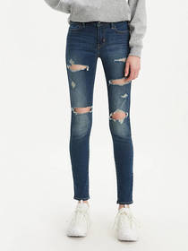 Levi's 710 Super Skinny Ripped Women's Jeans