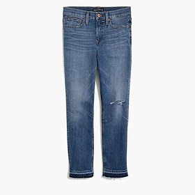 J. Crew Factory Slim boyfriend jean with distresse