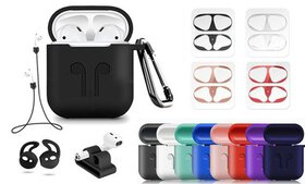 Airpod Case Cover with Carabiner for AirPods 1 & 2