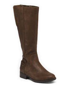 LIFESTRIDE Wide Comfort Knee High Boots
