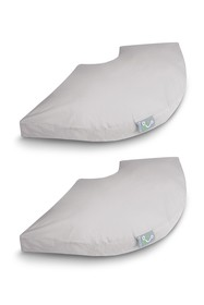 Rio Home 2-Pack Pillow Cover Case for Sleep Yoga S
