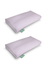 Rio Home Sleep Yoga 2-Pack Pillow Cover Case for K