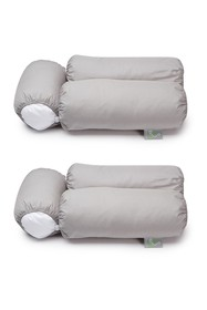 Rio Home Sleep Yoga 2-Pack Pillow Cover Case for M