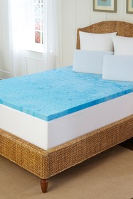 Rio Home Arctic Sleep Marbelized Gel King Topper