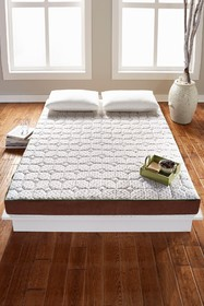 Rio Home tataME Queen Mattress Topper - White