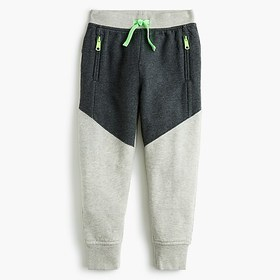 J. Crew Kids' colorblock sweatpant