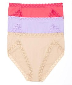 Natori Bliss Cotton French Cut 3-Pack