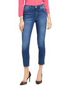 INC Curvy Skinny Ankle Jeans with Tummy Control, C