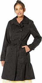Kate Spade New York Cotton Blend Trench Coat with