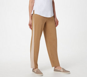 """As Is"" LOGO by Lori Goldstein Knit Pull-On Pant w"