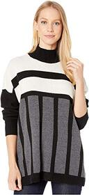 BCBGMAXAZRIA Color Block Sweater