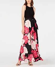 INC Floral-Print Maxi Dress, Created for Macy's